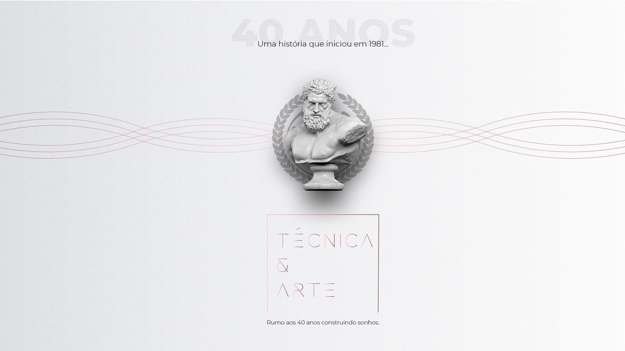 40 Anos de Técnica e Arte